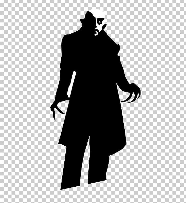 Dracula Nosferatu Silhouette Vampire PNG, Clipart, Animals.