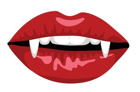Vampire fangs clipart 2 » Clipart Station.