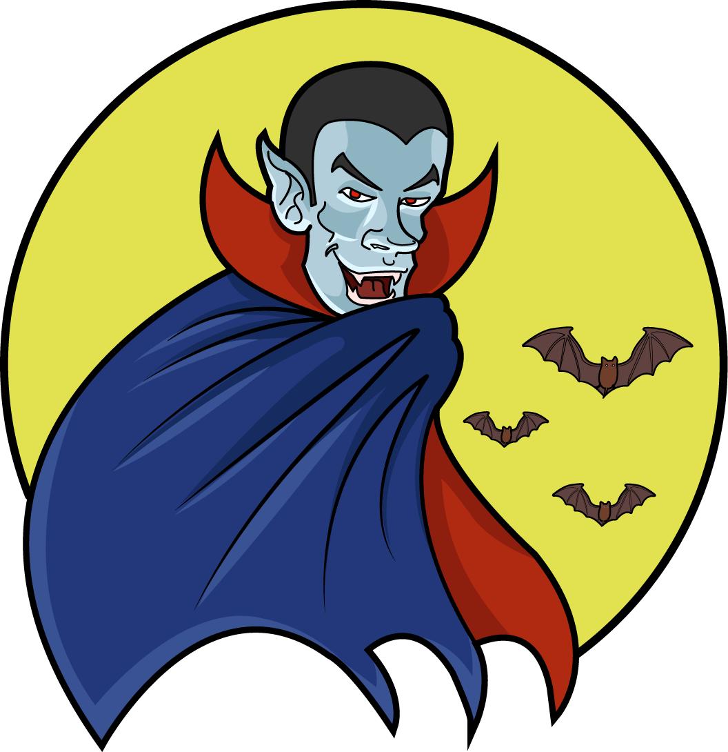 Halloween Vampire Clipart.