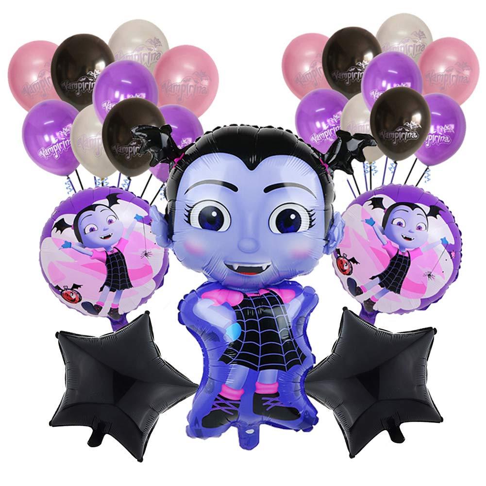 Bsstr Halloween Vampirina Birthday Party Balloons Set.
