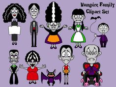 Vamps clipart.