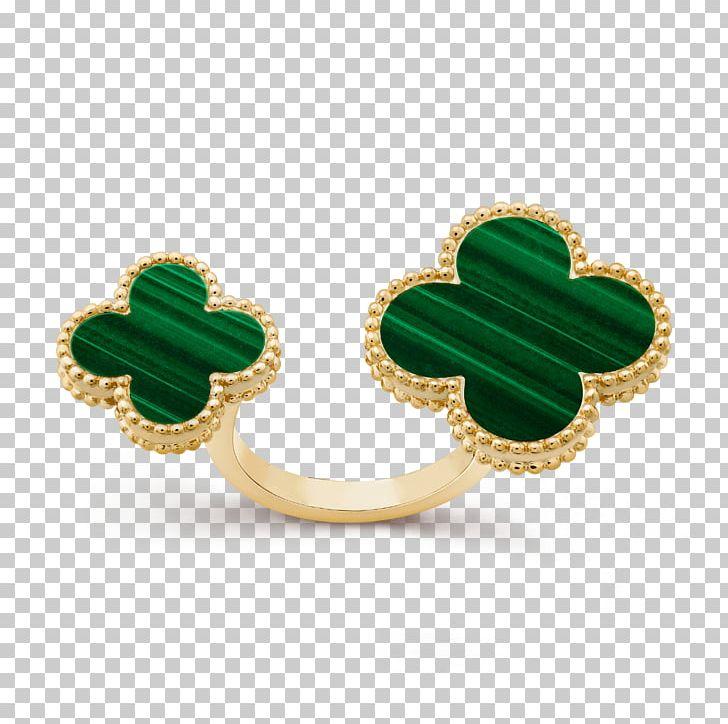 Earring Emerald Van Cleef & Arpels Jewellery PNG, Clipart.