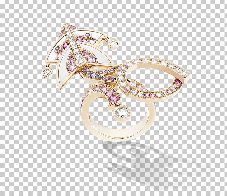 Van Cleef & Arpels Earring Jewellery Colored Gold PNG.