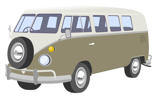 Camper Van Clip Art at Clker.com.