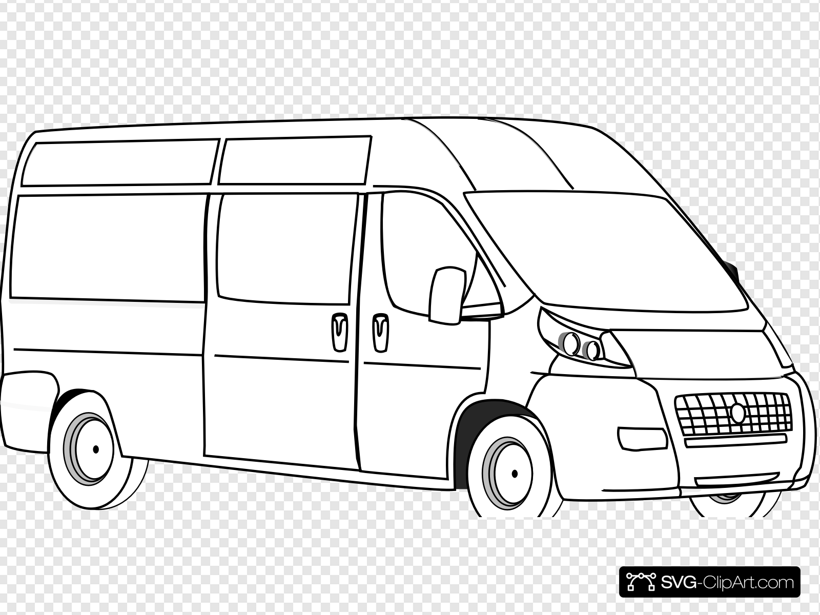 Van For Imagination Connection Clip art, Icon and SVG.