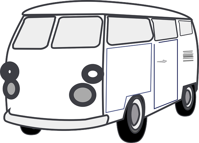 Black And White Van PNG Transparent Black And White Van.PNG.