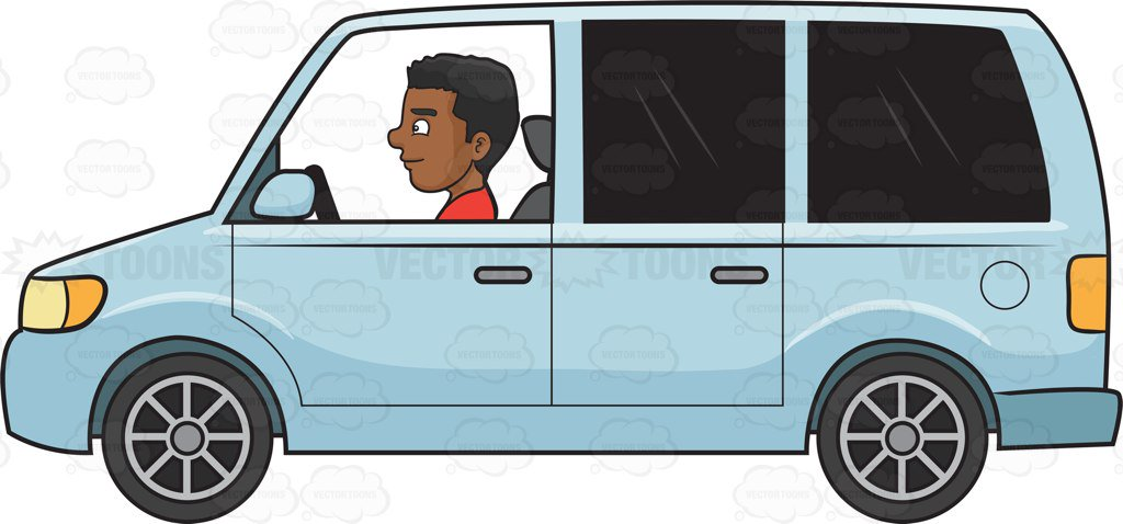 4016 Driving free clipart.