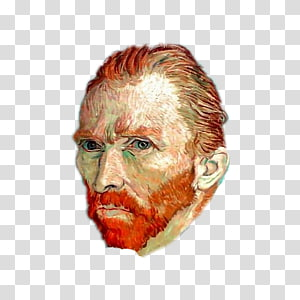 Vincent Van Gogh transparent background PNG cliparts free.