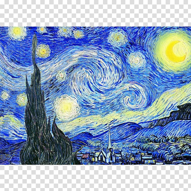 Starry Night by Vincent Van Gogh, The Starry Night Jigsaw.