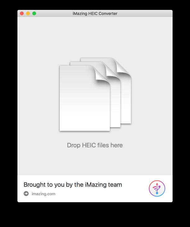 Convert iOS 11 photos from HEIC to JPG.