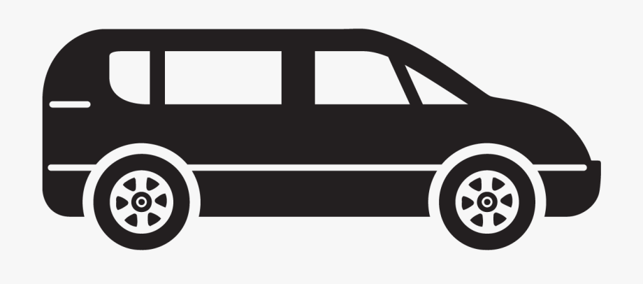 Minivan Clipart Land Transportation.