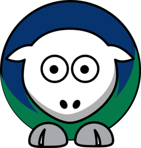 Sheep Vancouver Canucks Team Colors Clip Art at Clker.com.