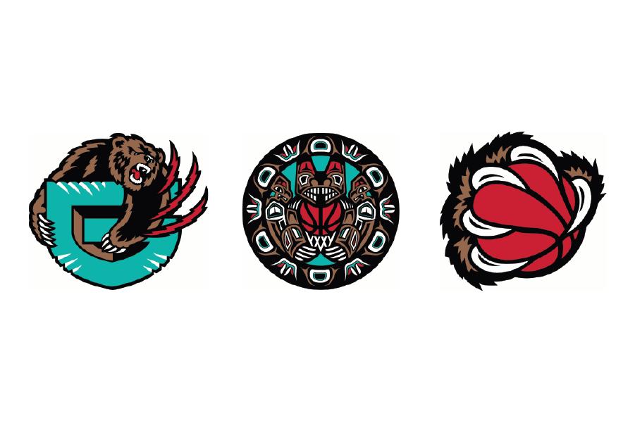 Michael Weinstein NBA Logo Redesigns: Memphis Grizzlies.