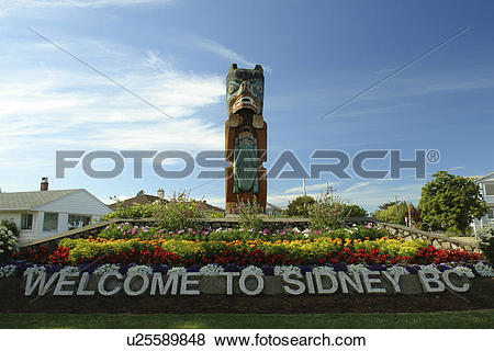Pictures of Sidney, British Columbia, Canada, Vancouver Island.