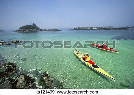 Stock Photograph of Couple sea.