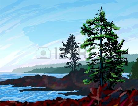 219 Vancouver Island Stock Vector Illustration And Royalty Free.