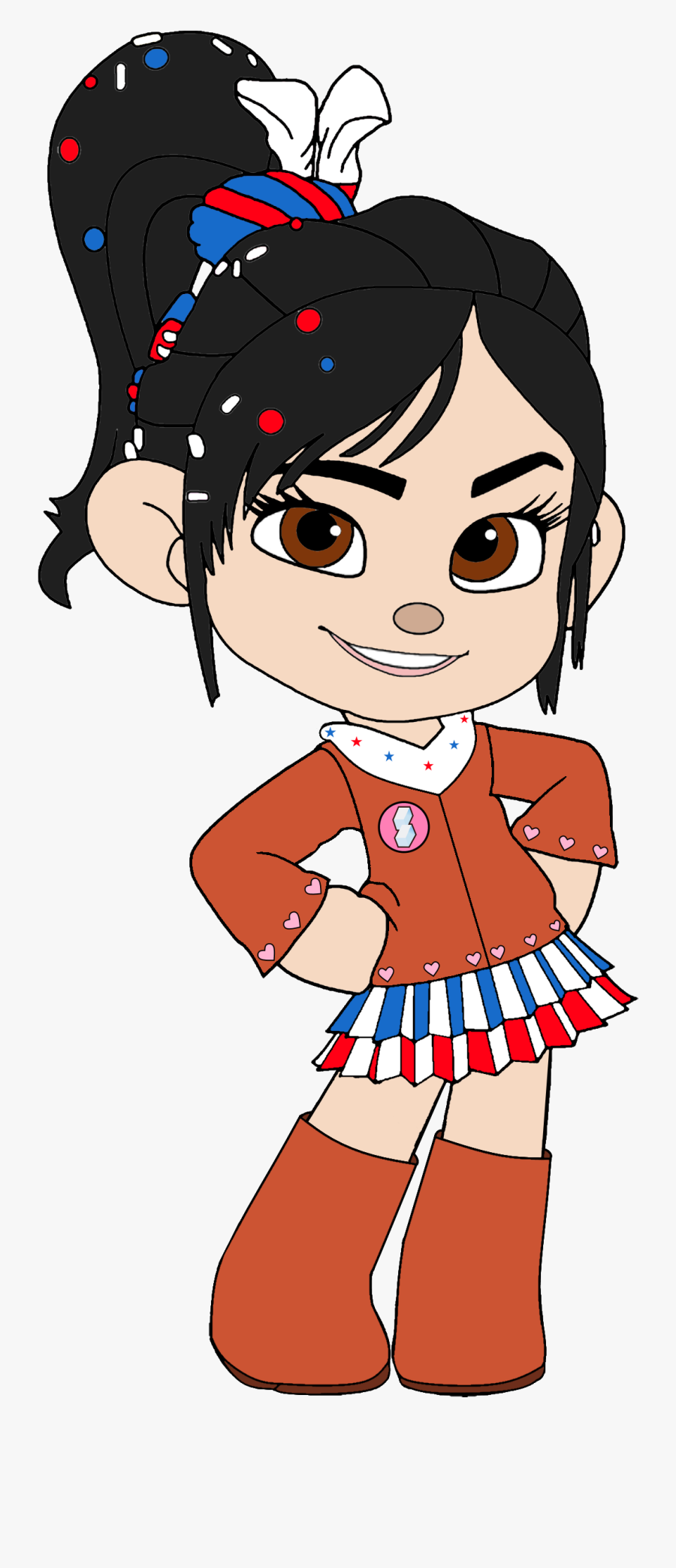 Vanellope As A Cowgirl.