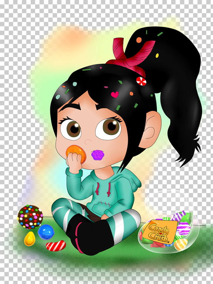 Vanellope von Schweetz Candy Crush Saga Drawing Candy Crush.