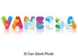 Vanessa Vector Clip Art Illustrations. 20 Vanessa clipart EPS.