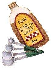 Clipart Vanilla Extract.