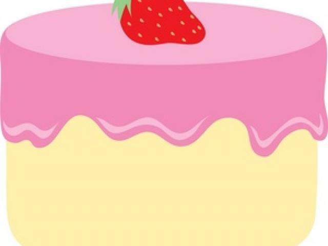 Vanilla Cake Cliparts 2.