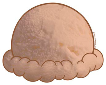 228 Ice Cream Scoop free clipart.