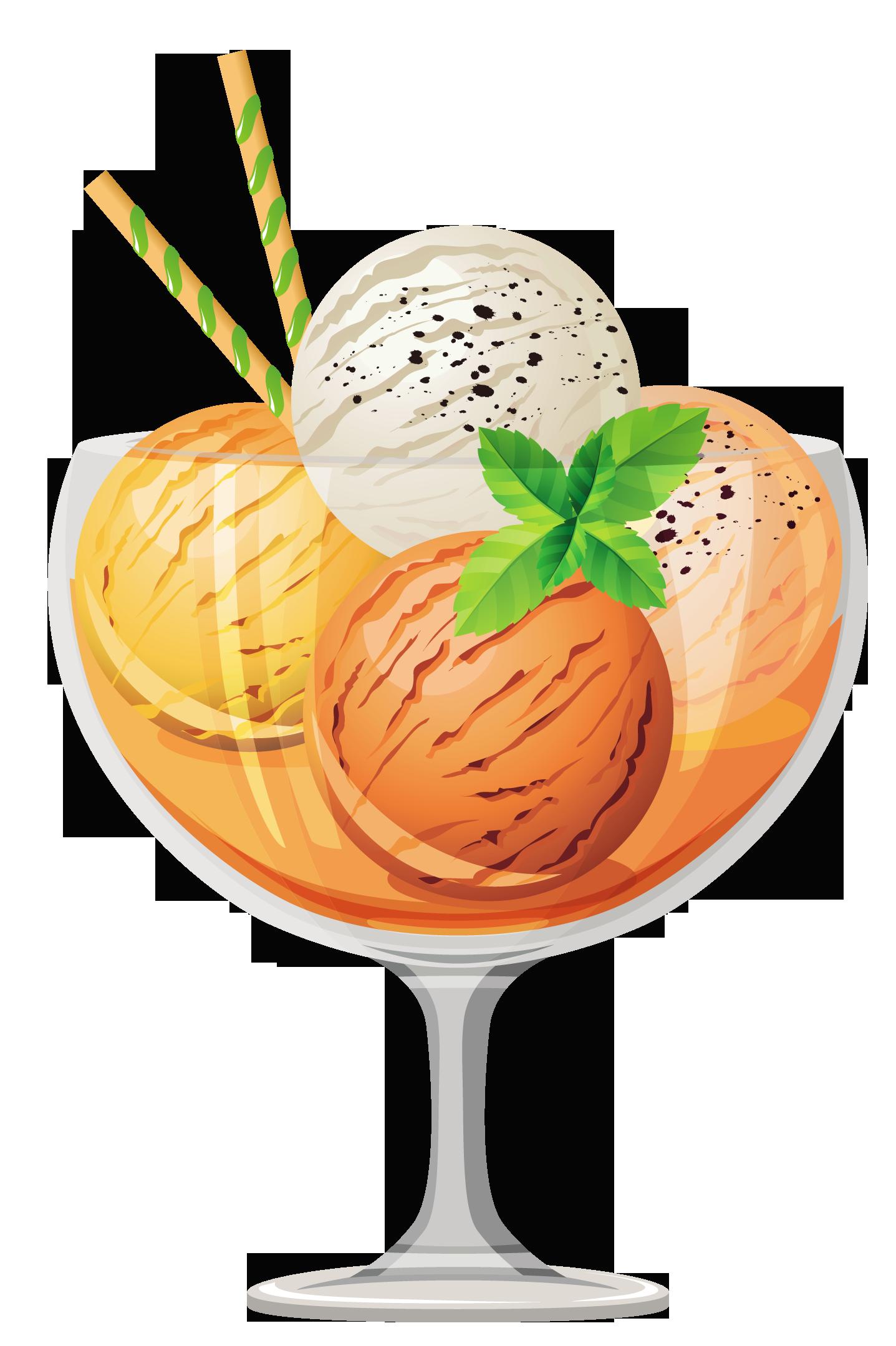 Ice cream Cocktail Sundae.