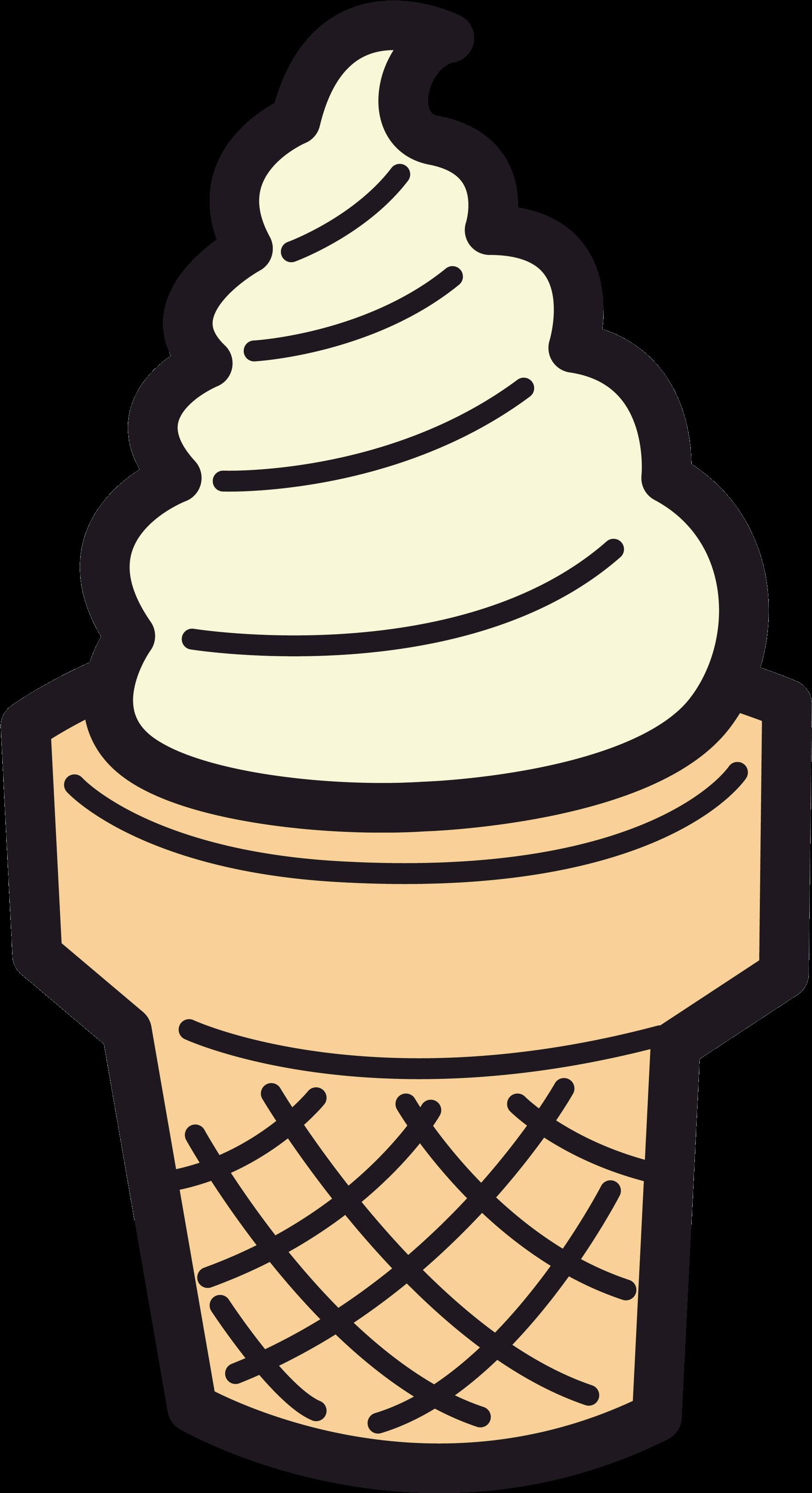 Ice Cream Cone Clipart Sundae Clipart Cartoon Pencil.