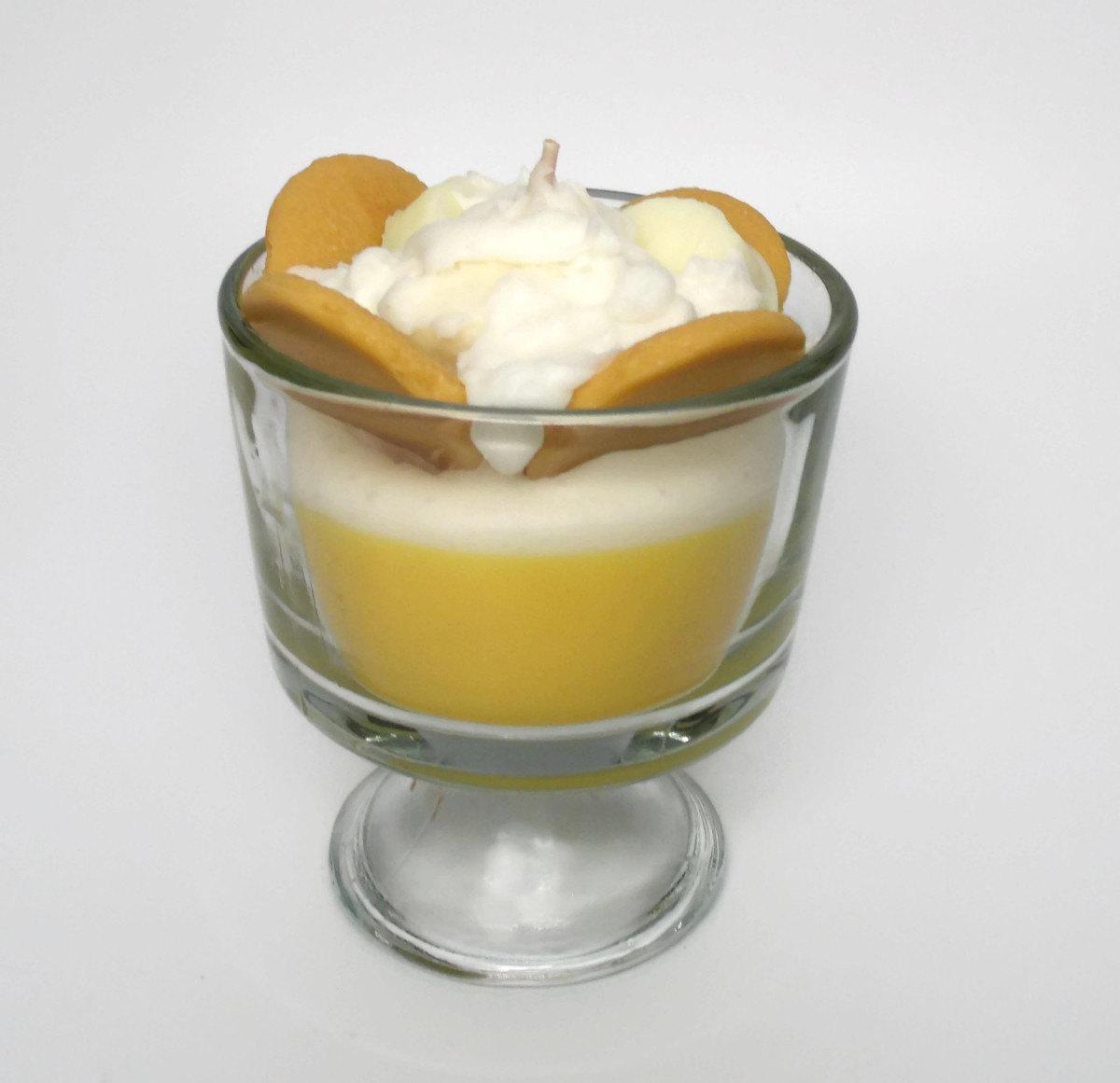 Banana Pudding Clipart.