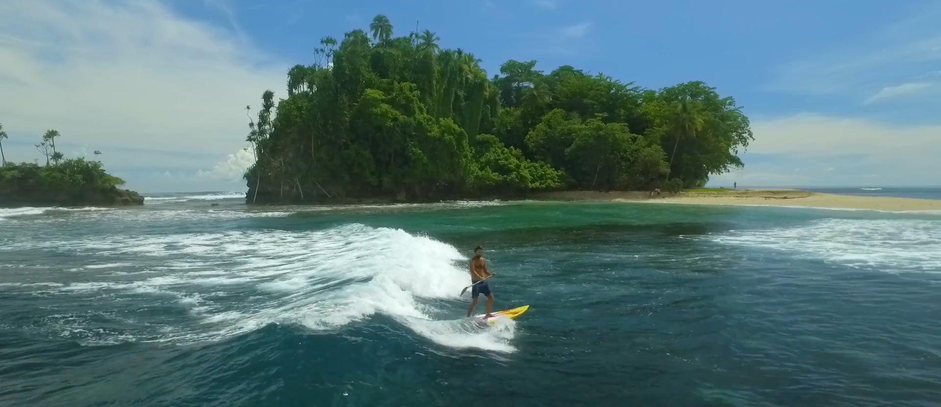 Surfing in Vanimo, Papua New Guinea.