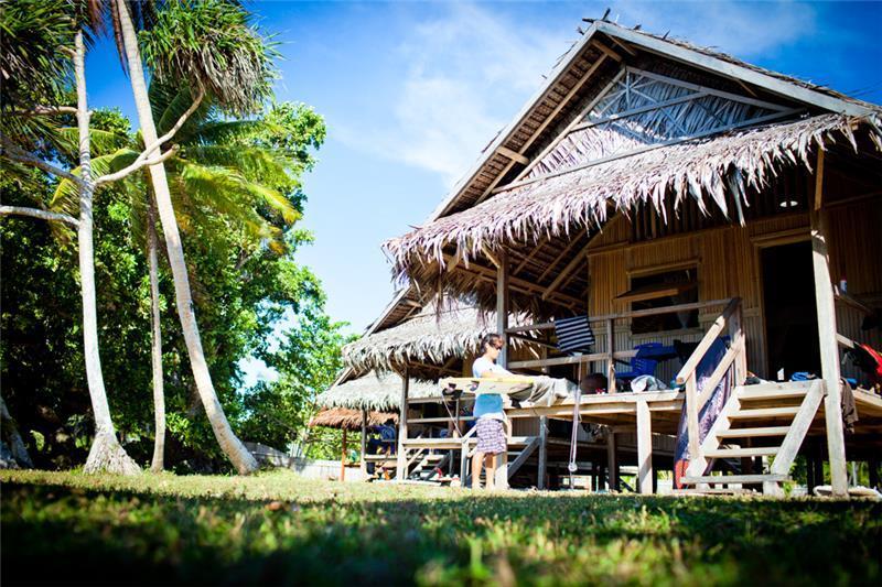 Vanimo Surf Lodge.