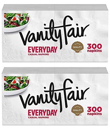 Amazon.com: Vanity Fair Everyday Napkins (300 ct (2 pack.
