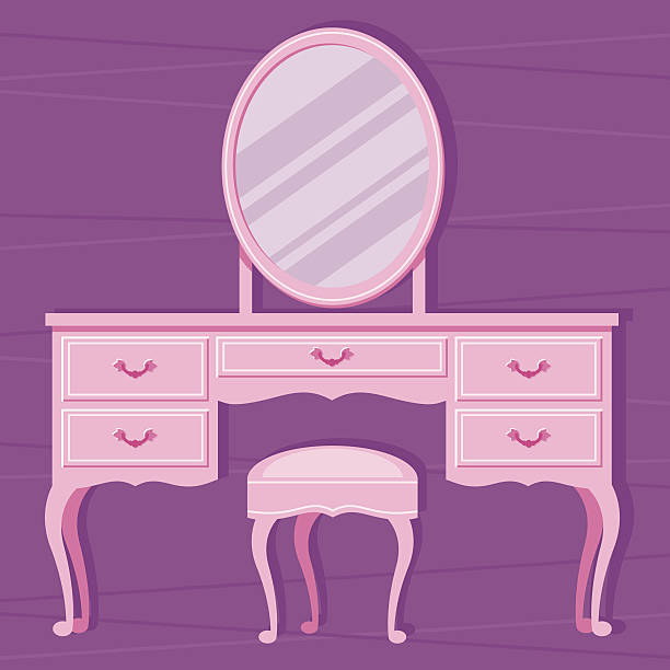 Vanity Table Clip Art, Vector Images & Illustrations.