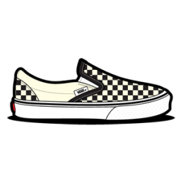 Vans Checkerboard Dirty White Icon.