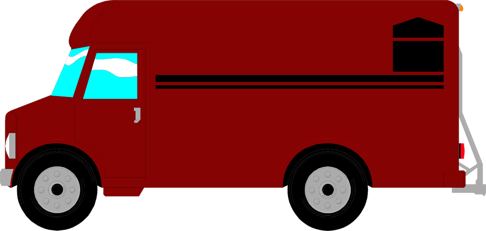 Postal van clipart - ClipgroundUsps Delivery Truck Clipart