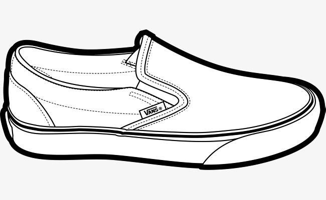Vans Shoe Clipart.