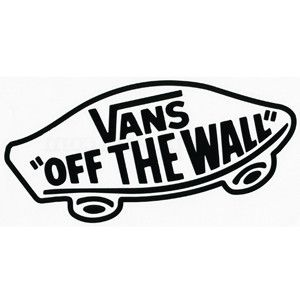 vans off the wall logo.
