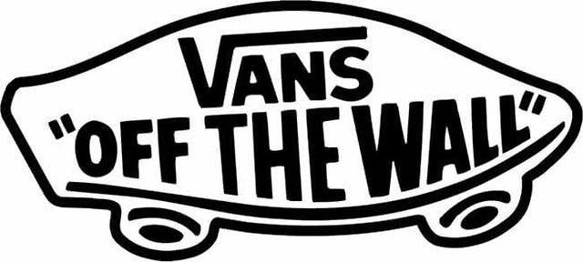 Off the wall. Vans..