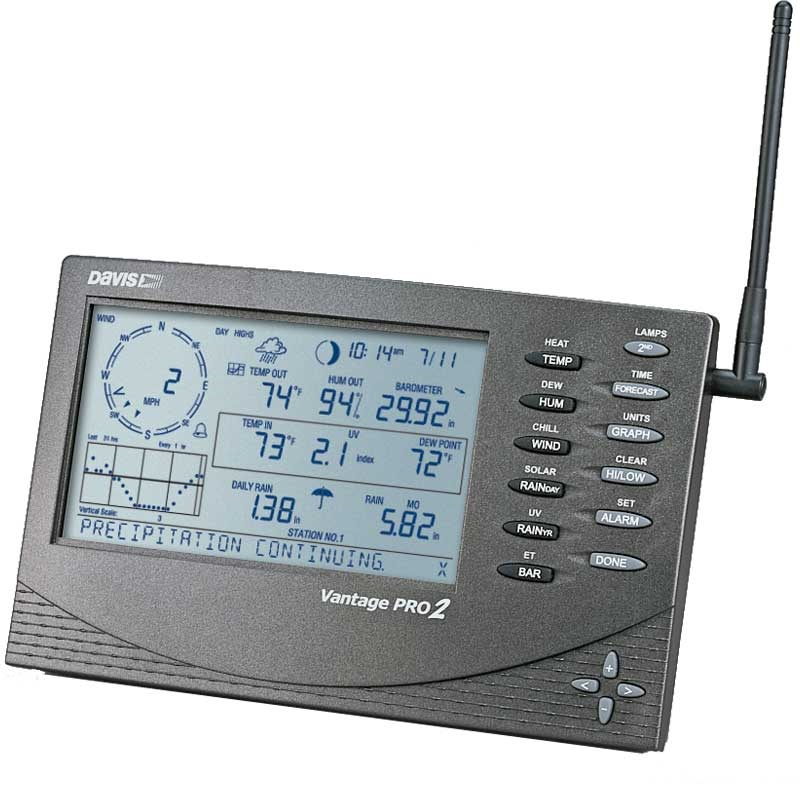 Buy Davis Vantage Pro 2 Weather Station in South Africa.