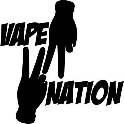 Amazon.com: Mandy Graphics Vape Nation Peace Vaping Smoking.