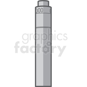 large vape pen vector clipart . Royalty.