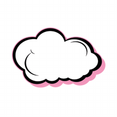 Vape Cloud Clipart.