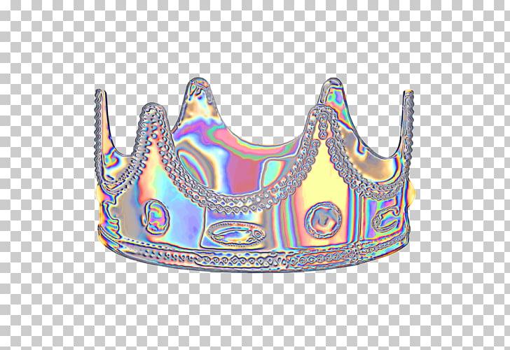 Holodaze Vaporwave Aesthetics Dinahmite, ladies crown PNG.