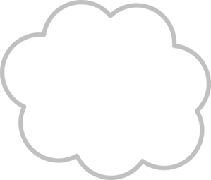 Vapor cloud clipart.