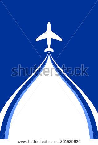 Plane Vapour Trail Stock Vectors & Vector Clip Art.
