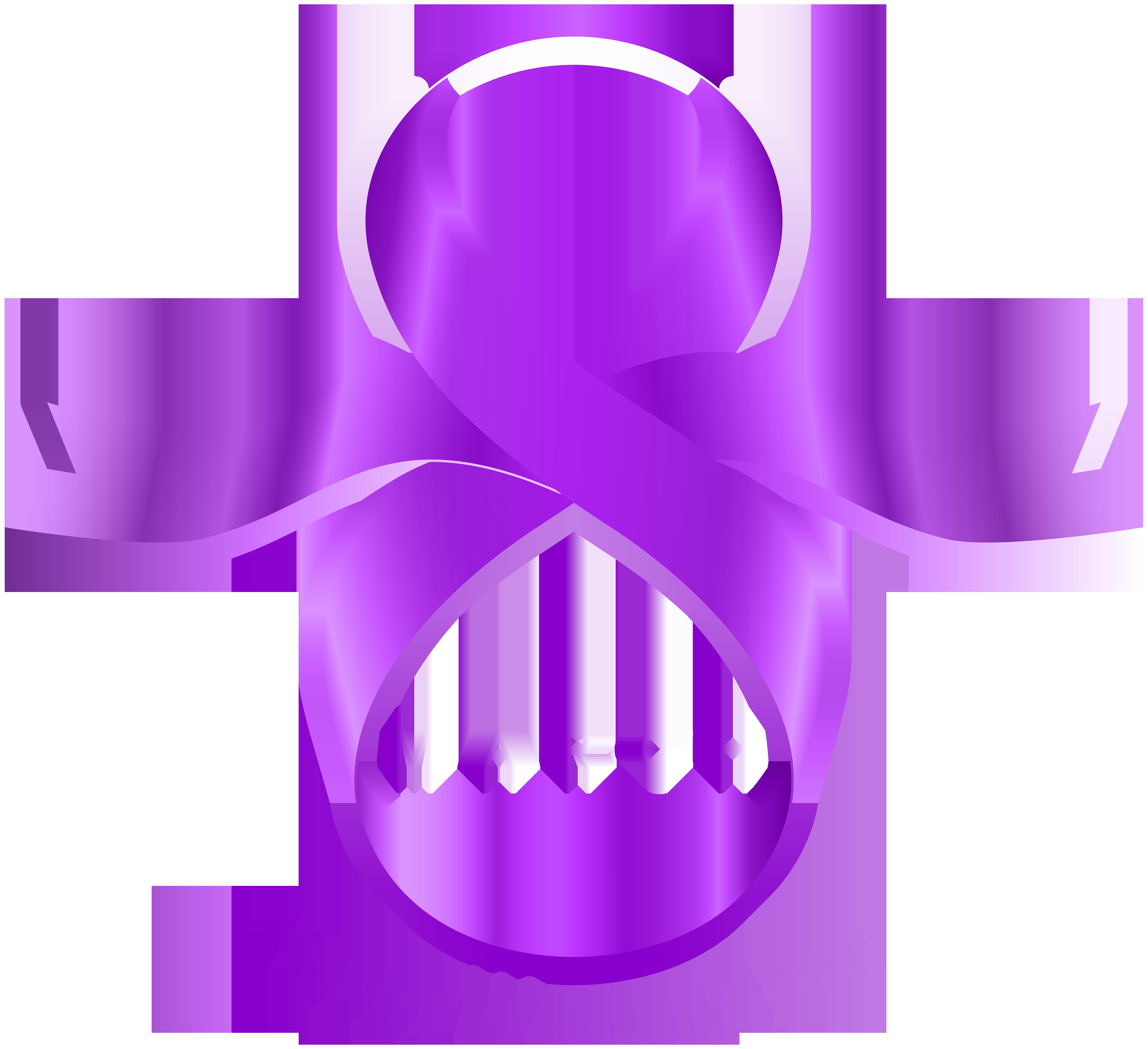 8 March Purple PNG Clip Art Image.