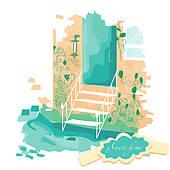 Veranda Clipart EPS Images. 59 veranda clip art vector.