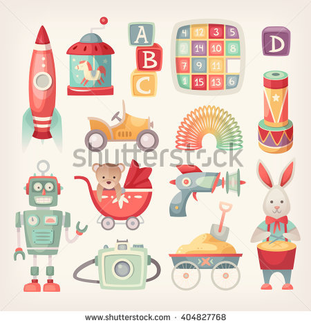 Toys Stock Images, Royalty.