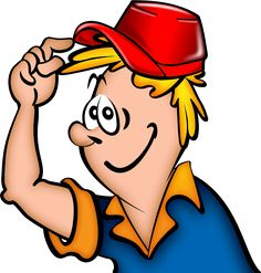 Cartoon Construction Worker Clip Art.
