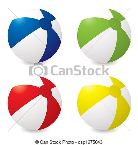 Drawings of beach ball variation.